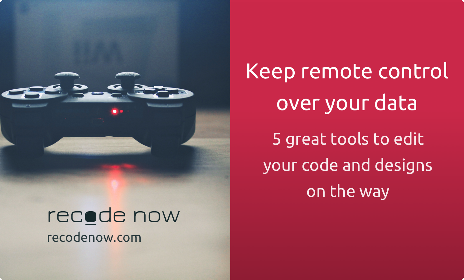 5 Great Tools To Keep Control Over Your Data Remotely