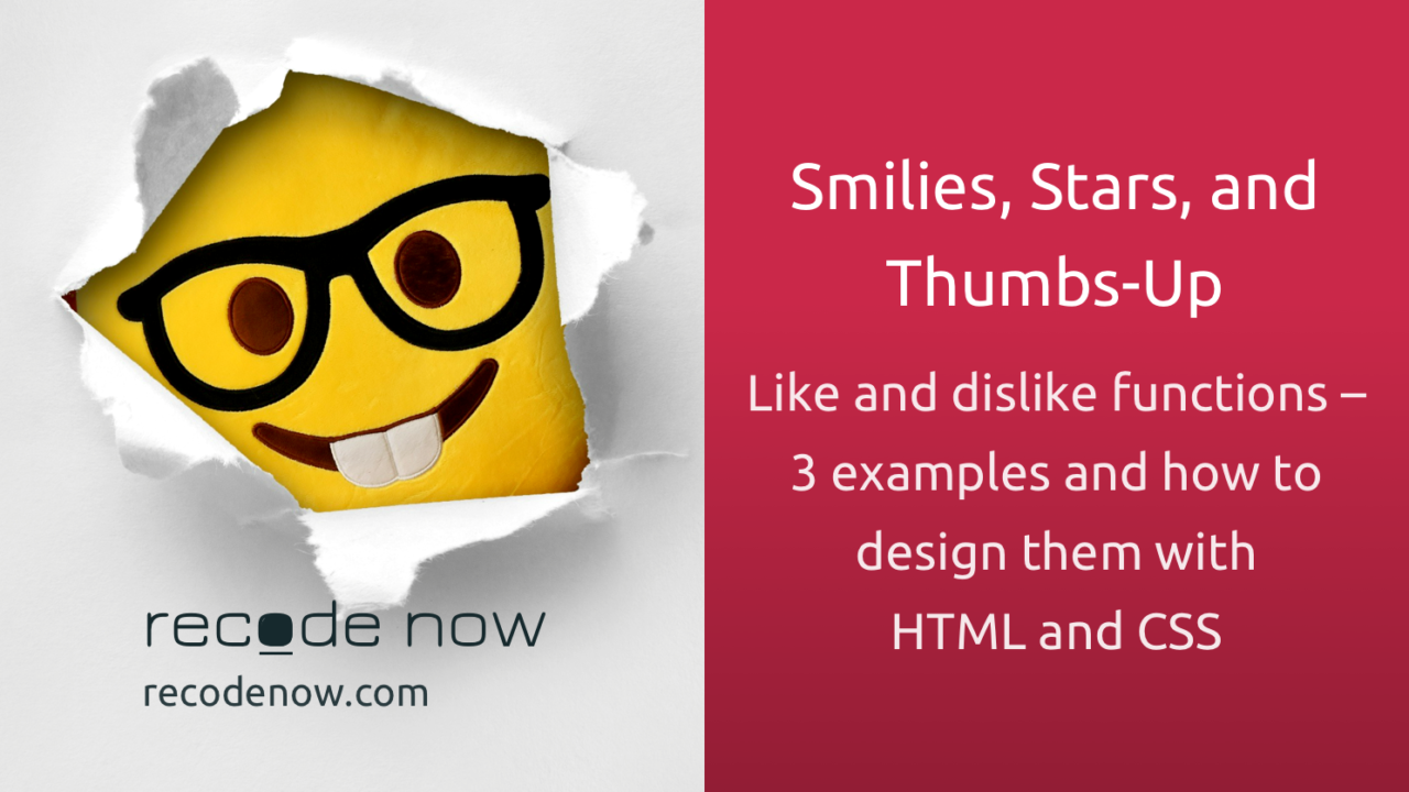 Smilies, Stars, and Thumbs-Up
