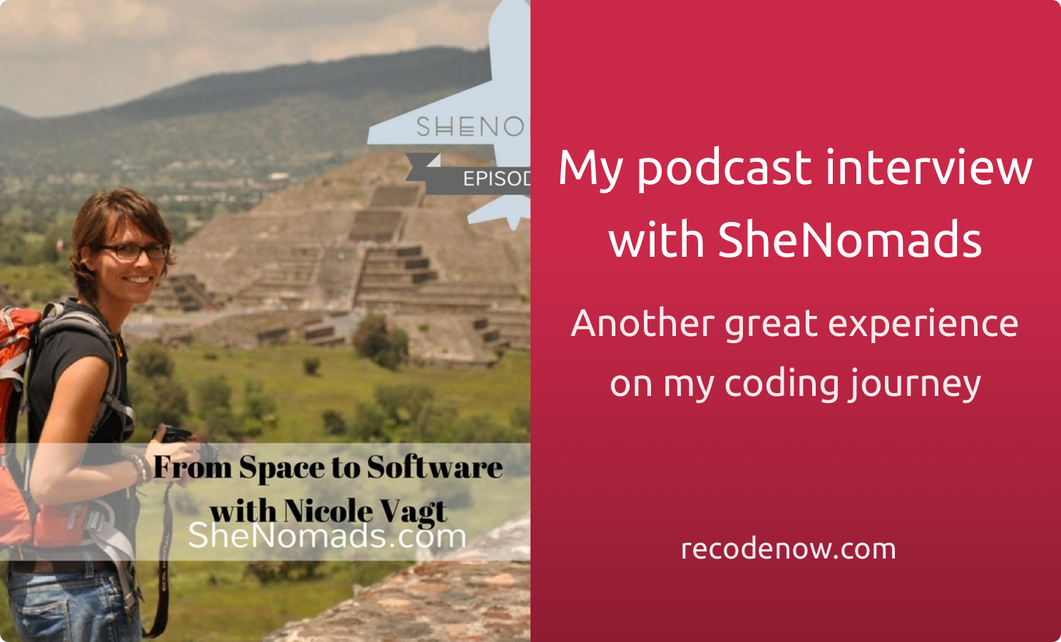 My podcast interview at SheNomads